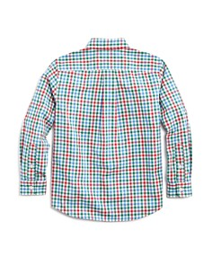 Vineyard Vines - Boys' Higgins Beach Gingham Shirt - Little Kid, Big Kid